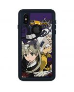 Soul Eater Purple iPhone X Waterproof Case
