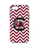 South Carolina Chevron Print iPhone 8 Pro Case