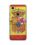 Spain Flag Distressed Google Pixel 3a Skin