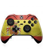 Spain Flag Distressed Xbox One Elite Controller Skin