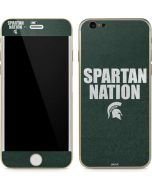 Michigan State University Spartans Nation iPhone 6/6s Skin
