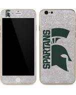 Michigan State University Spartans Half Logo iPhone 6/6s Skin