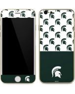 Michigan State University Spartans MSU Split iPhone 6/6s Skin