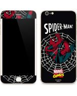 Web-Slinger Spider-Man Comic iPhone 6/6s Plus Skin