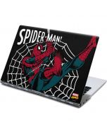 Web-Slinger Spider-Man Comic Yoga 910 2-in-1 14in Touch-Screen Skin
