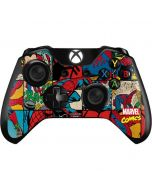 Spider-Man Action Grid Xbox One Controller Skin