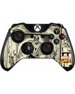 Spider-Man Comic Portrait Xbox One Controller Skin
