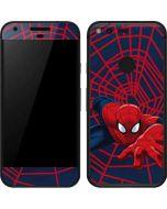 Spider-Man Crawls Google Pixel Skin