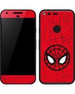 Spider-Man Face Google Pixel Skin