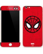 Spider-Man Face iPhone 6/6s Plus Skin