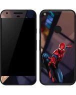 Spider-Man in City Google Pixel Skin