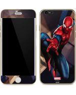 Spider-Man in City iPhone 6/6s Skin