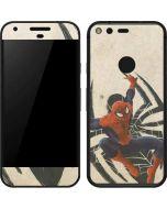Spider-Man Jump Google Pixel Skin
