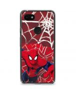 Spider-Man Lunges Google Pixel 3a XL Clear Case