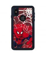 Spider-Man Lunges iPhone X Waterproof Case