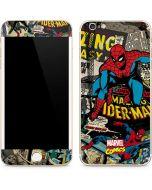 Spider-Man Vintage Comic iPhone 6/6s Plus Skin