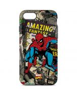 Spider-Man Vintage Comic iPhone 8 Pro Case