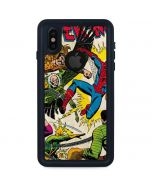 Spider-Man vs Sinister Six iPhone X Waterproof Case