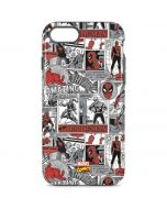 Spidey Comic Pattern iPhone 8 Pro Case
