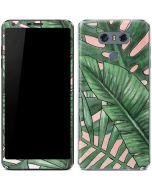 Spring Palm Leaves LG G6 Skin