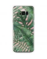 Spring Palm Leaves Galaxy S8 Plus Skin