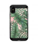 Spring Palm Leaves iPhone X Cargo Case