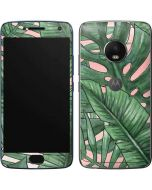 Spring Palm Leaves Moto G5 Plus Skin