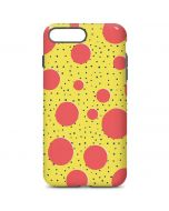 Spring Yellow Polka Dots iPhone 7 Plus Pro Case