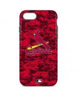 St Louis Cardinals Digi Camo iPhone 8 Pro Case