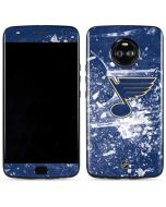 St. Louis Blues Frozen Moto X4 Skin