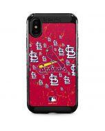 St. Louis Cardinals - Primary Logo Blast iPhone XS Max Cargo Case