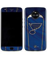 St. Louis Blues Home Jersey Moto X4 Skin