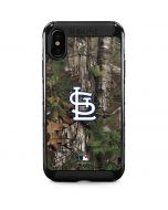 St. Louis Cardinals Realtree Xtra Green Camo iPhone XS Max Cargo Case