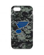 St. Louis Blues Camo iPhone 8 Pro Case