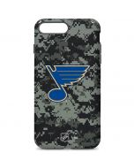 St. Louis Blues Camo iPhone 7 Plus Pro Case