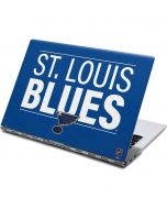 St. Louis Blues Lineup Yoga 910 2-in-1 14in Touch-Screen Skin
