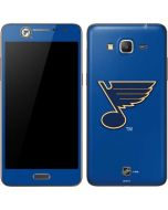 St. Louis Blues Solid Background Galaxy Grand Prime Skin