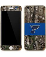 St. Louis Blues Realtree Xtra Camo iPhone 6/6s Skin