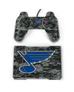 St. Louis Blues Camo PlayStation Classic Bundle Skin