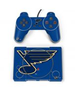 St. Louis Blues Solid Background PlayStation Classic Bundle Skin