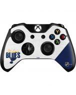 St. Louis Blues Script Xbox One Controller Skin