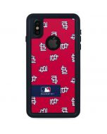 St. Louis Cardinals Full Count iPhone XS Waterproof Case