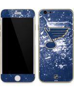 St. Louis Blues Frozen iPhone 6/6s Skin