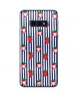 Strawberries and Stripes Galaxy S10e Skin