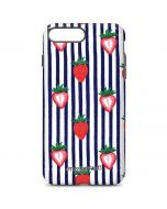 Strawberries and Stripes iPhone 7 Plus Pro Case