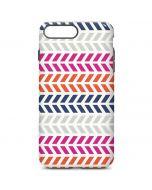 Striped Chevron iPhone 7 Plus Pro Case