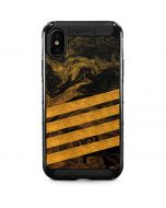 Striped Marble iPhone XS Max Cargo Case