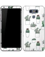 Succulent Pattern LG G6 Skin