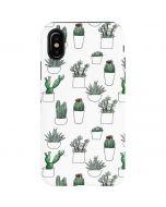 Succulent Pattern iPhone X Pro Case
