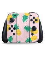 Summer Pineapples Nintendo Switch Joy Con Controller Skin